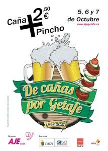 CARTEL DE CAÑAS POR GETAFE 2018