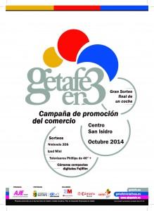 CARTEL COMERCIO GETAFE EN TRES ZONA 2