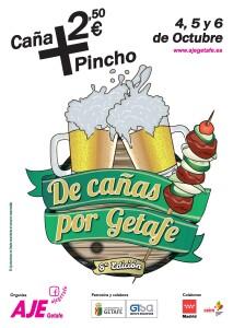 CARTEL DE CAÑAS POR GETAFE2019