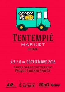 CARTEL TENTEMPIE MARKET GETAFE_ septiembre
